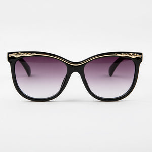 Violet Babe Tinted Maroon Sunglasses With Protective Case
