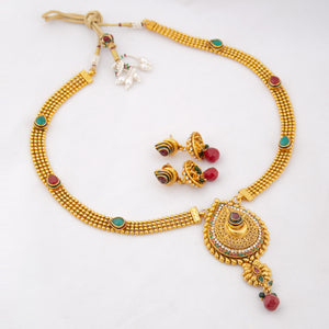Formal Kundan Maala Set