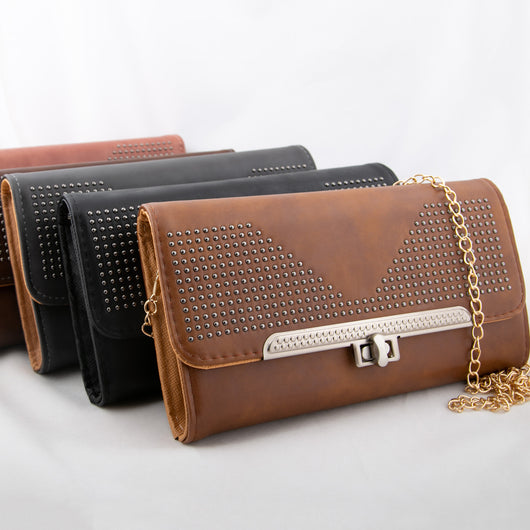 Urbane Leather Clutches