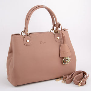 Dior Premium Tea Pink Leather Bag