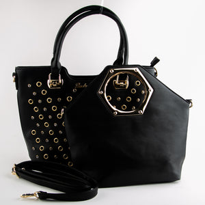 Lucky Anna Set of Two Bags in Black