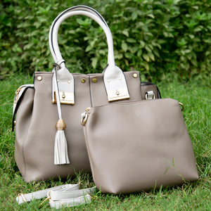 Ella dual bag set (Taupe)