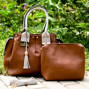 Ella dual bag set (Brown)