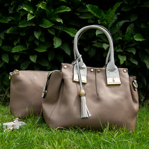 Ella dual bag set (Beige)