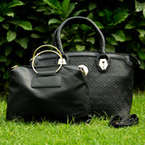 MK Set of two Bags (Black)