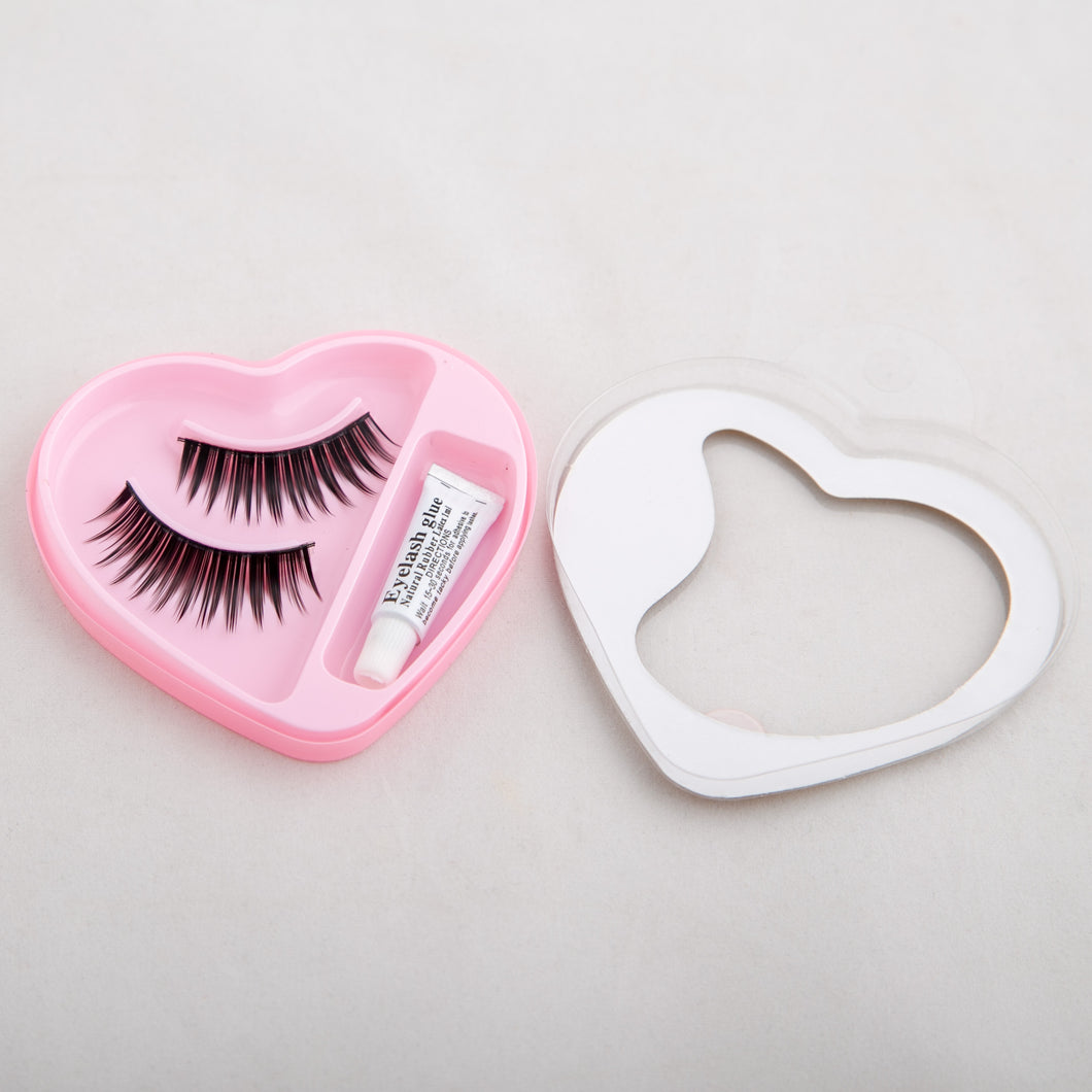Posh Heart Eyelashes