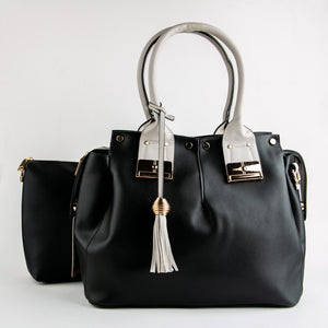 Ella dual bag set (Black)