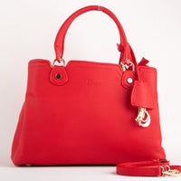 Dior Premium Red Leather Bag