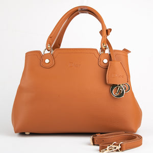 Dior Premium Rust Leather Bag