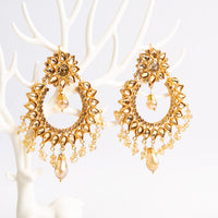 Gold Rush Kundan Earrings