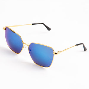 Exotic Eye Sunglasses With Protective Case