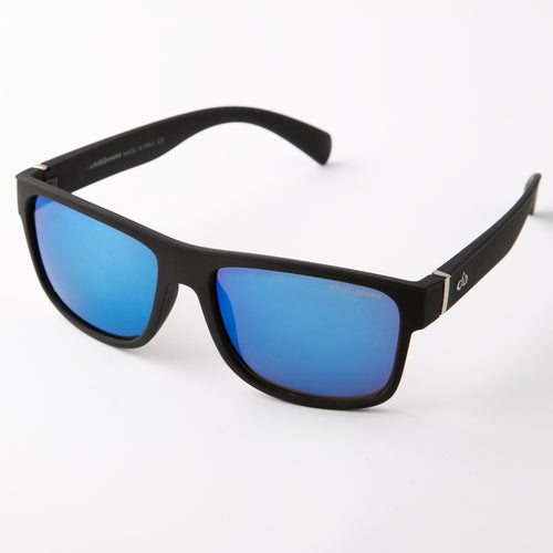 Flip Fog Wayfarer Sunglasses With Protective Case (Blue)
