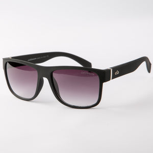 Flip Fog Wayfarer Sunglasses With Protective Case (Black)