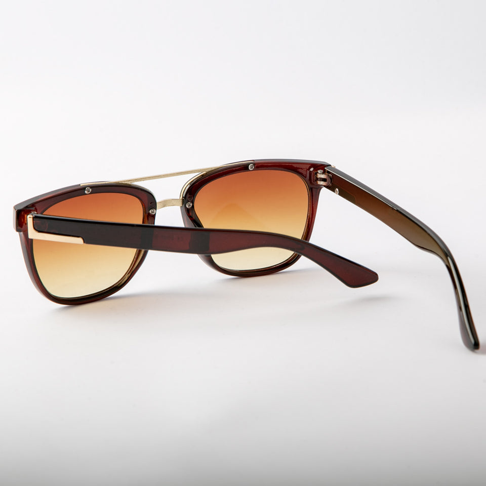 Suntan Sunglasses With Protective Case