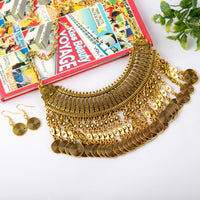 Afghan Style Necklace & Earrings Set (Ver.2)