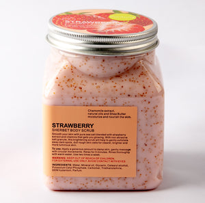 Strawberry Sherbet Body Scrub