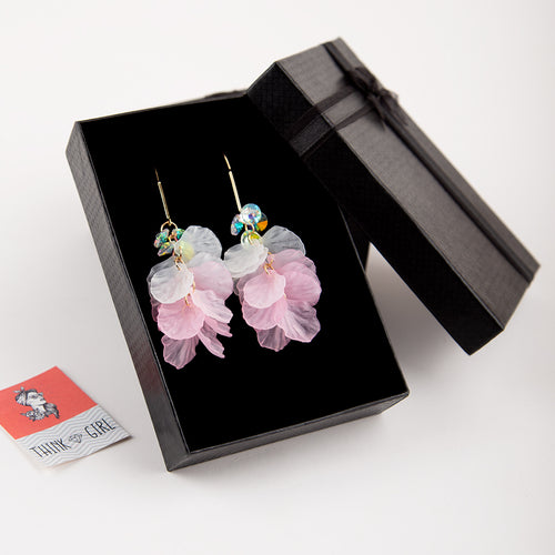 Fairy Pink Earrings