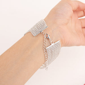 Barbie Bracelet With Stones (Silver)