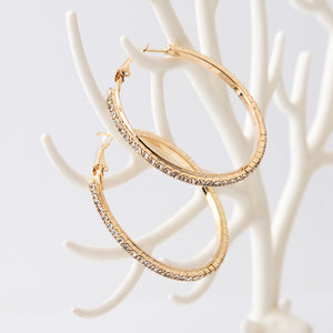 Tucked Away Regular Hoop Earrings