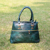 Dulcet Green Hand Bag (Vol.2)