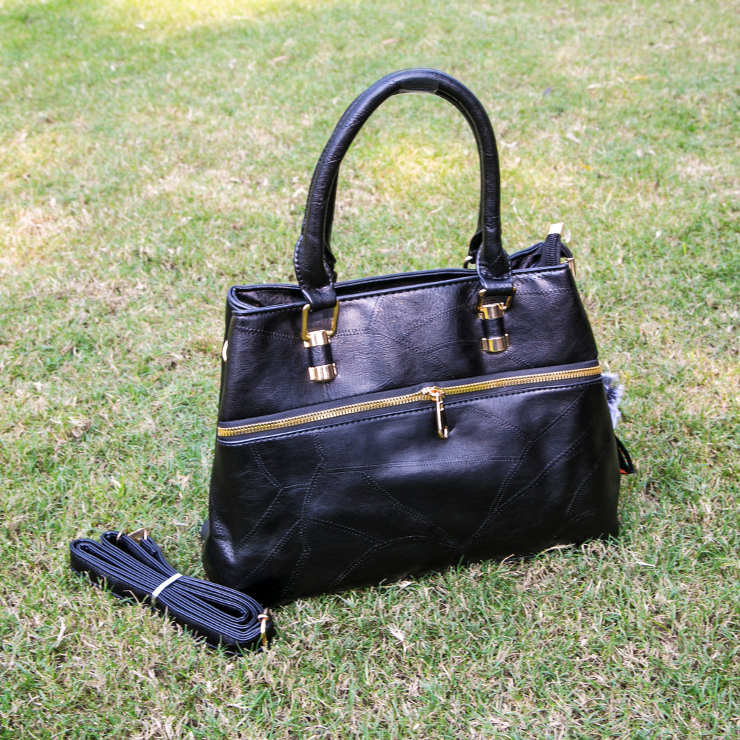 Dulcet Black Hand Bag (Vol.2)