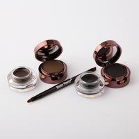 Music Flower Eyebrows filler and  Eyeliner Set (Dual Colors)