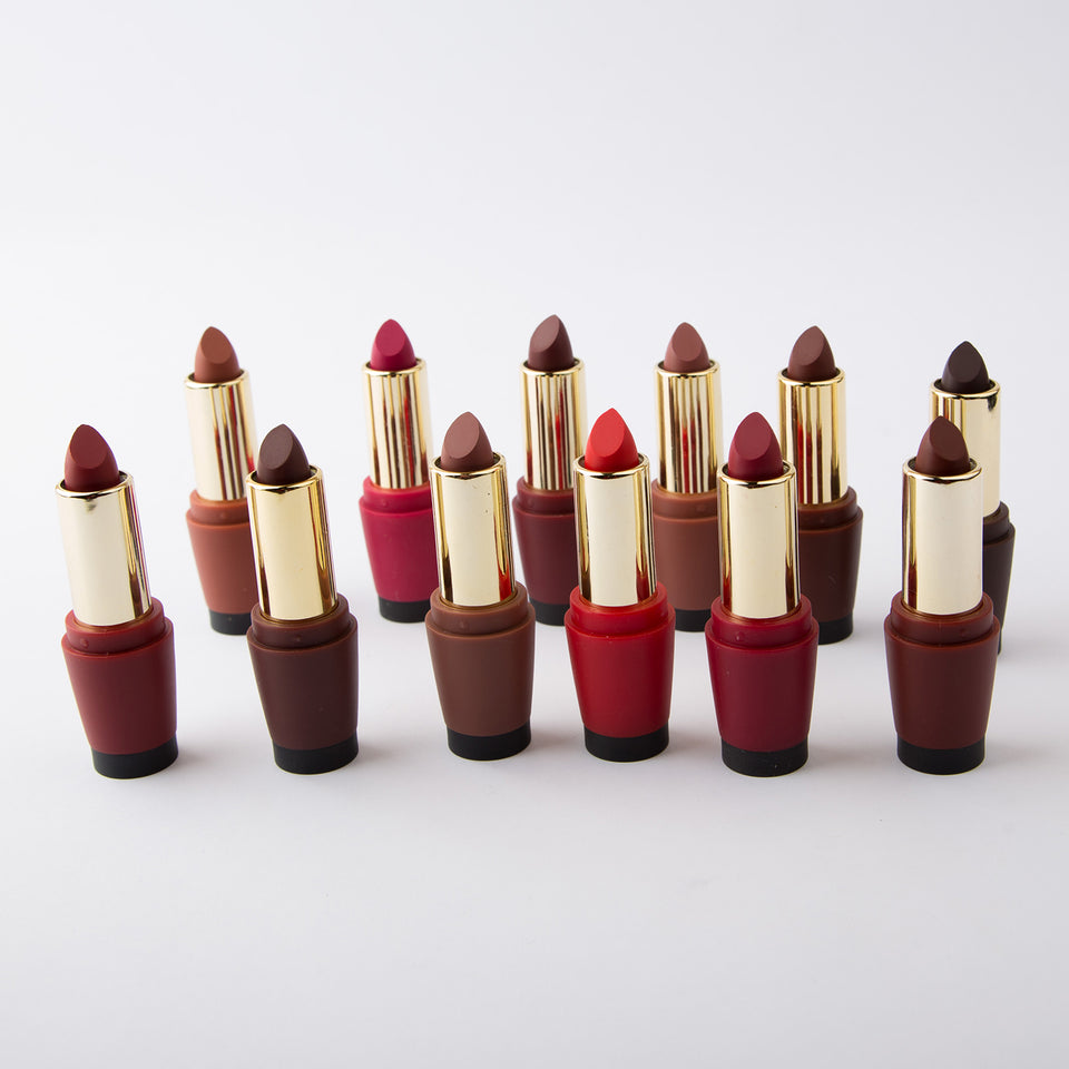 Comfor Beauty Semi Matte Lipsticks