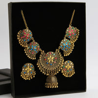 Celestial Allure Necklace & Earrings Set