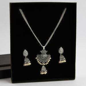 Crafting For Magic Necklace & Earrings Set