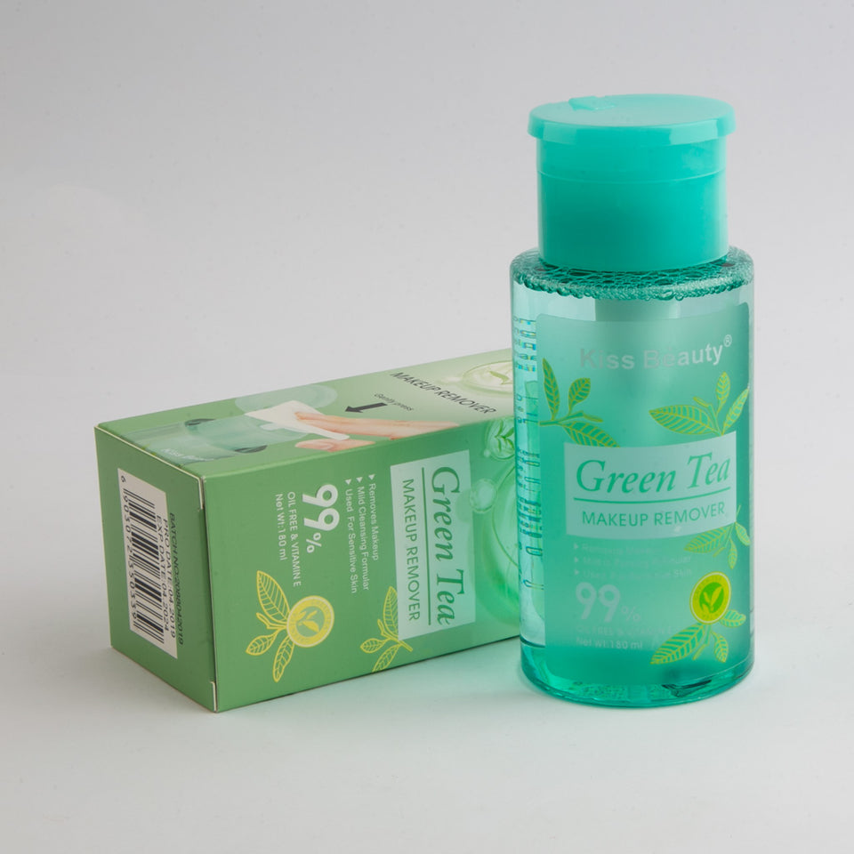 Kiss Beauty Green Tea Makeup Remover