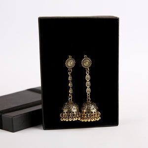 Antique Bronze Dangled Jhumkay