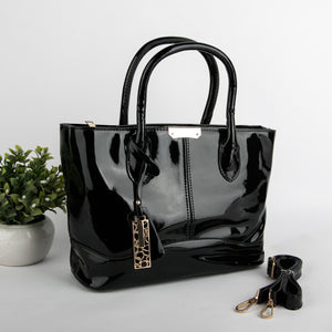 Beaming Black Handbag