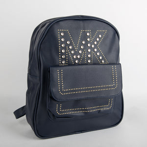 MK Studded Backpack (Blue)