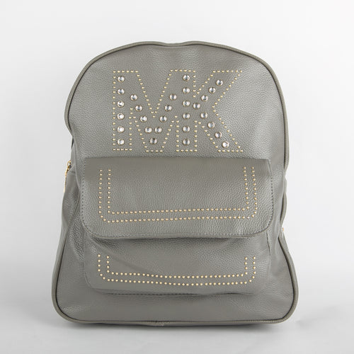 MK Studded Backpack (Grey)