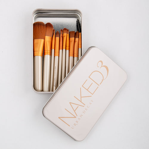 Naked3 Set of 10 Brushes