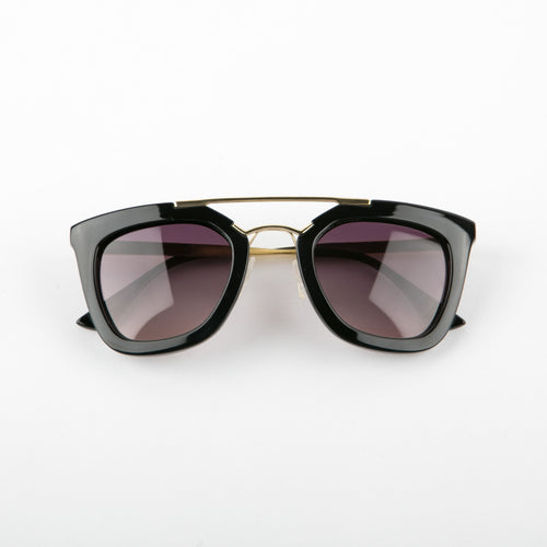 Nostalgic Vibes Sunglasses With Protective Case