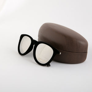 Velvety Black Sunglasses
