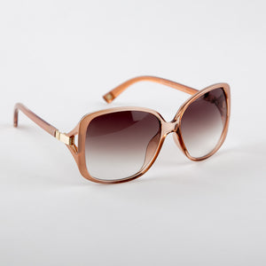 Classy Nude Sunglasses With Protective Case