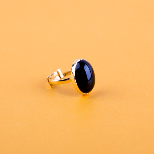 Adjustable Dusky Oval Ring