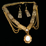 Victorian Necklace & Earrings Set