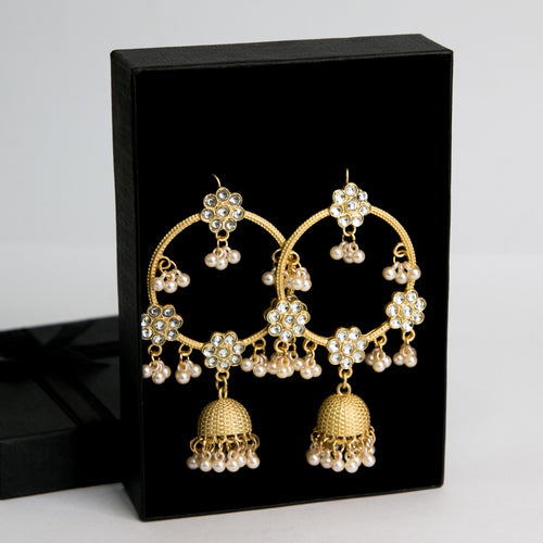 Opulent Glam Earrings (Code 0100)
