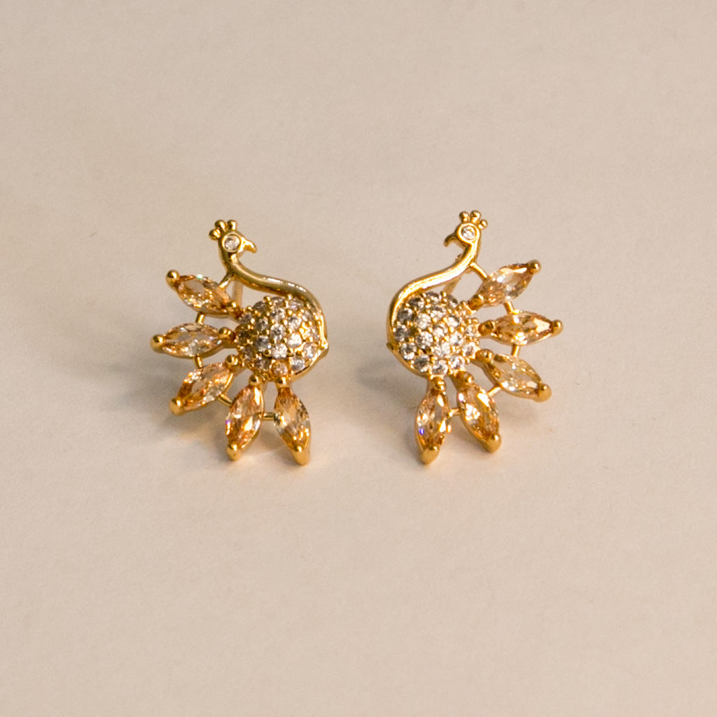 Golden Dove Studs (Code 0128)