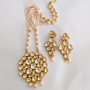Art of Zen Formal Kundan Maala Set (Code 0146)