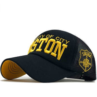 "100% cotton baseball cap ""Boston Propety of City"" 🧢 myalleshop"