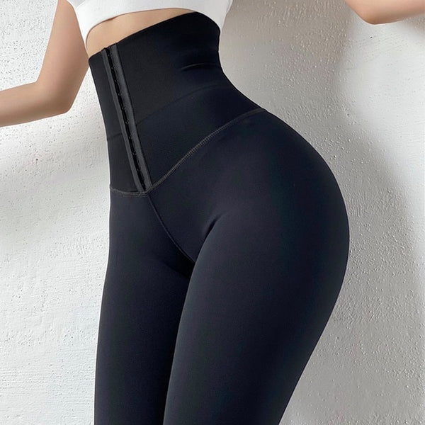 Tummy control waist cincher corsetto leggings🔥myalleshop