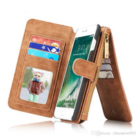 Zipper wallet Phone case Mobile phone case in quality leather myalleshop
