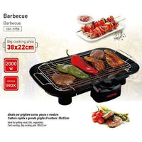 Grill barbecue 2000 w piastra elettrica hoomei elettrodomest xmehrs 🌞myalleshop