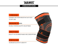 AOLIKES 1PCS 2019 Knee Support Professional Protective