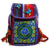 Tribal Vintage Hmong Thai Indian Ethnic Boho hippie ethnic bag, rucksack backpack bag SYS-564
