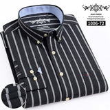 Men's lab coat with plaid and striped  long sleeves 🧥myalleshop